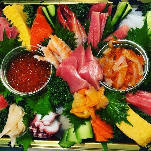 2手巻き寿司パーティー