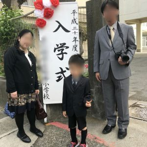 玲子さん入学式