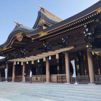 寒川神社拝殿